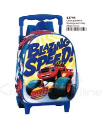 Mochila con carro guardería de Blaze Speed  (MC-53744)