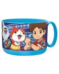 Tazon plastico micro 450ml de Yo-Kai Watch