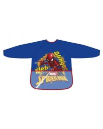 Delantal pvc brillo manga larga de Spiderman  (AD-SM11571)