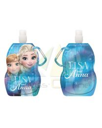 Botella cantimplora enrollable de Frozen  (WD19503)