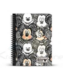 Cuaderno DIN A4 de Mickey Mouse Classic 'Oh Boy'  37858