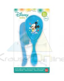 Set cepillo y peine de Mickey Mouse 'Baby Disney Paint Pot'  (39800)