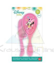 Set cepillo y peine de Minnie Mouse 'Baby Disney Paint Pot'  (39900)