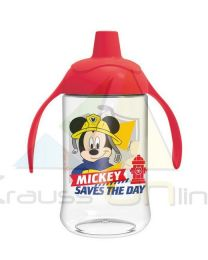 Vaso entrenamiento toddler easy curvado 440ml de Mickey Mouse 'To The Rescue'  (44096)