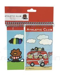 Set de 6 rotuladores con bloc de Athletic Club Bilbao  (CP-GS-302-AC)