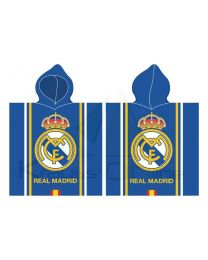 Poncho playa algodon de Real Madrid RM171174