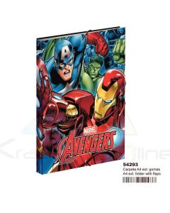 Carpeta gomas A4 de Avengers 'Return'  (MC-54293)